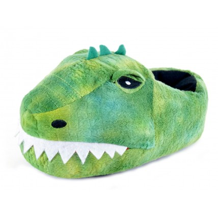 Boys Character Slippers - 3D Dino
