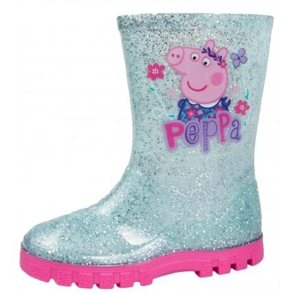 Peppa Pig PVC Wellington Boots - Glitter
