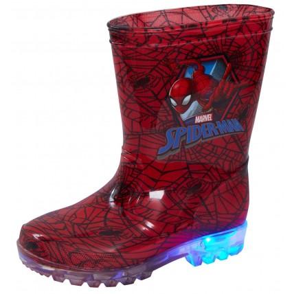 Marvel Spiderman Light Up Wellington Boots