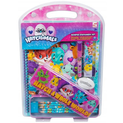 Girls Hatchimals Stationery Set