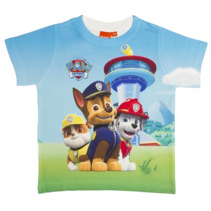 Boys Paw Patrol T-Shirt Paw Patrol Team