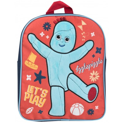 Boys Iggle Piggle Soft Touch Backpack