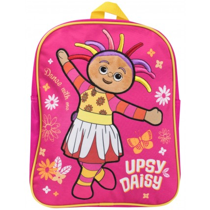 Girls Upsy Daisy Soft Touch Backpack