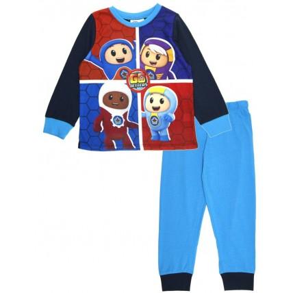 Go Jetters Boys Long Pyjamas - Blue