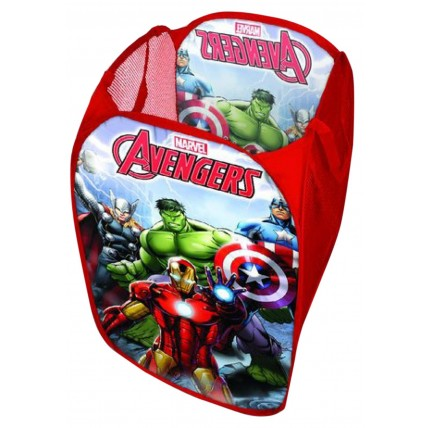 Boys Marvel Avengers Pop Up Storage Basket