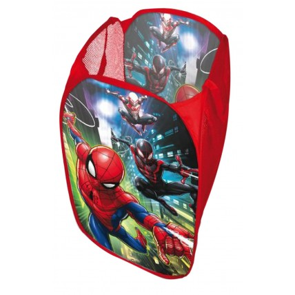 Boys Marvel Spiderman Pop Up Storage Basket
