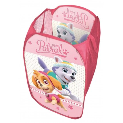 Girls Paw Patrol Pop Up Storage Basket