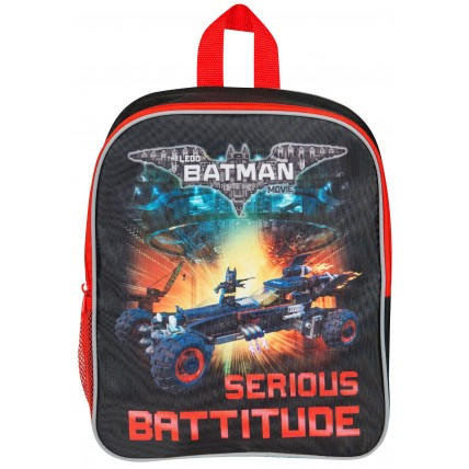 Lego Batman Backpack - Serious Battitude