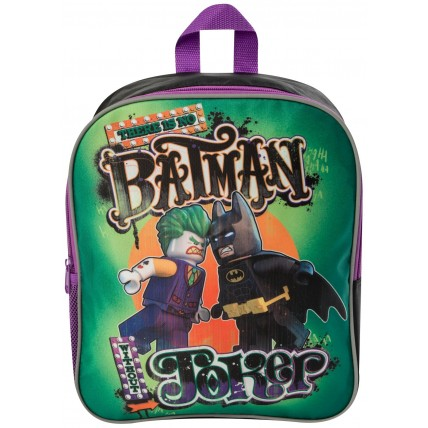 Lego Batman Backpack - Batman & The Joker