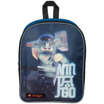 Lego Ninjago Boys Backpack - Black / Blue