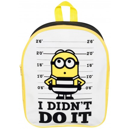 Minions Backpack I Didn't Do It
