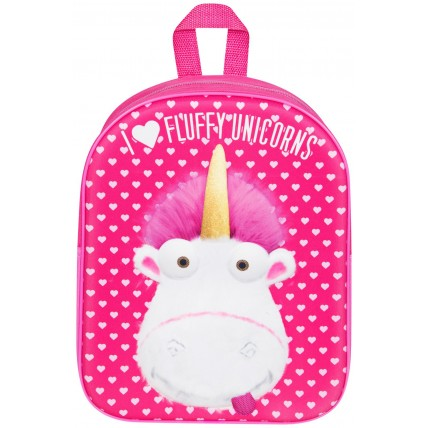 Girls Minions 3D Unicorn Backpack