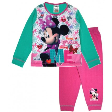 Minnie Mouse Long Pyjamas - Fabulous
