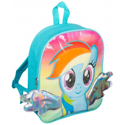 Girls My Little Pony Backpack - Rainbow Dash