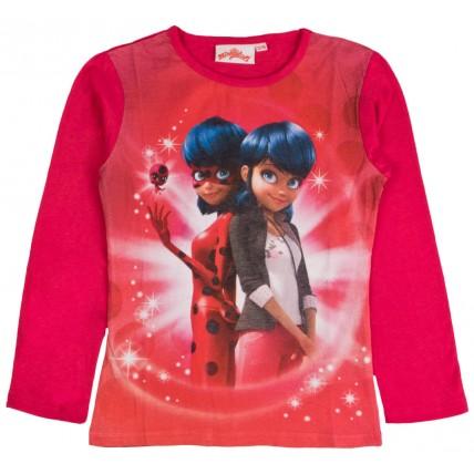 Girls Miraculous Ladybug Long Sleeve T Shirt