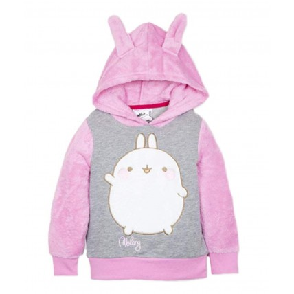 Girls Molang Hooded Jacket