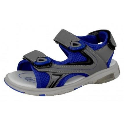 Boys Sports Sandals - Grey / Blue