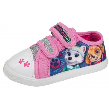 Paw Patrol Girls Canvas Pumps  Pawsome