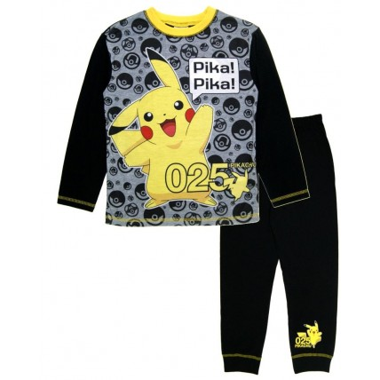 Pokemon Full Length Pyjamas - Pika Pika