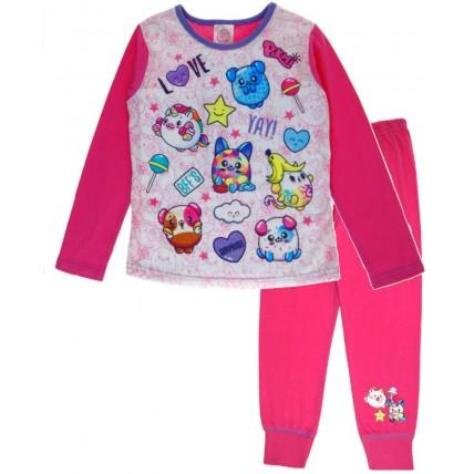 Pikmi Pops Long Pyjama Set - Pink