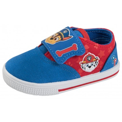 Boys Paw Patrol Touch Fastening Canvas Pumps