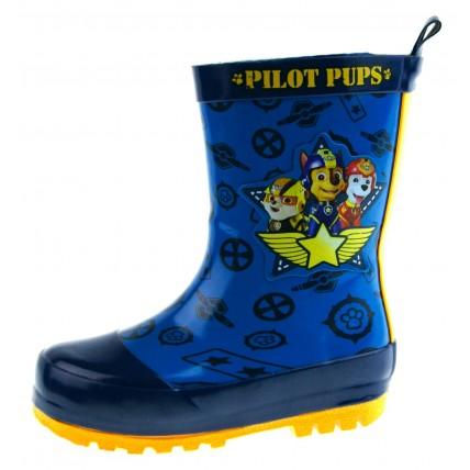 Paw Patrol Wellington Boots - Pilot Pups