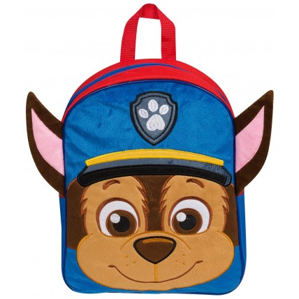 Paw Patrol Chase Soft Plush Backpack