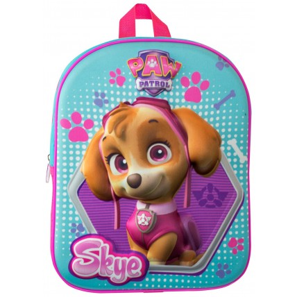 3D Paw Patrol Skye Backpack