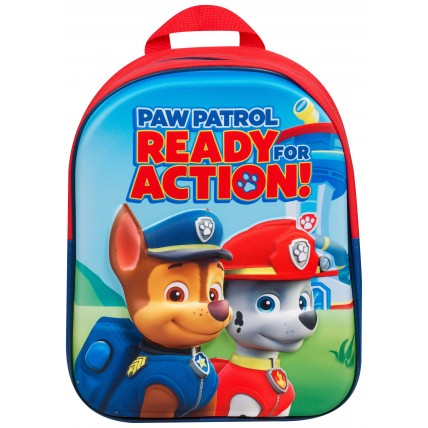 Boys Paw Patrol 3D Backpack