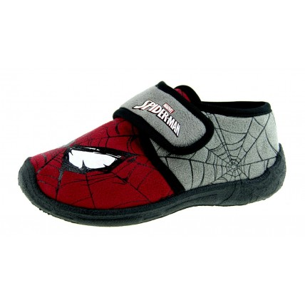 Marvel Spiderman Grey Slippers