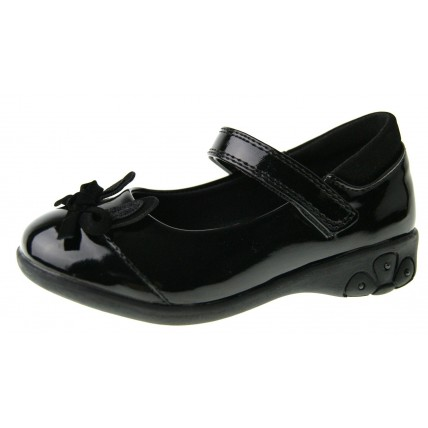 Girls 3D Butterfly School Shoes