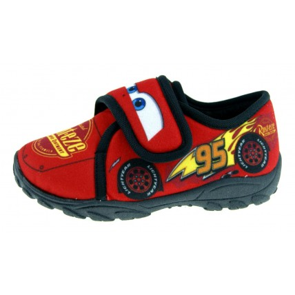 Disney Cars Boys Mule Slippers