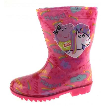 Peppa Pig Unicorn Wellington Boots