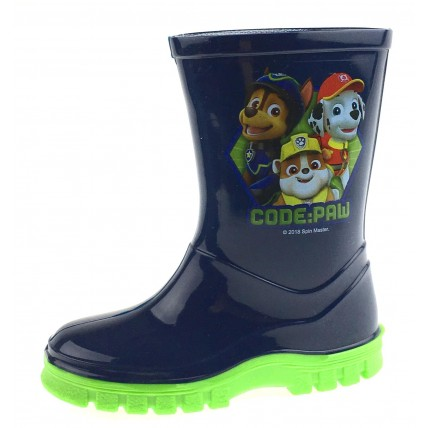 Paw Patrol Wellington Boots - Code Paw