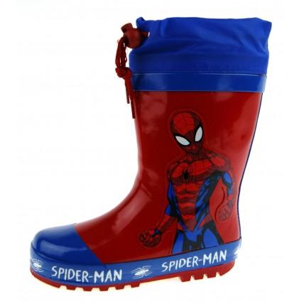 Spiderman Tie Top Wellington Boots