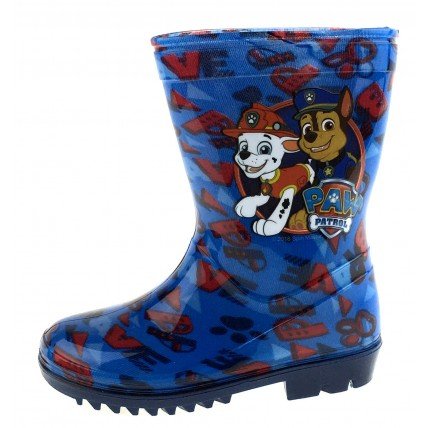 Paw Patrol Wellington Boots - Chase & Marshall