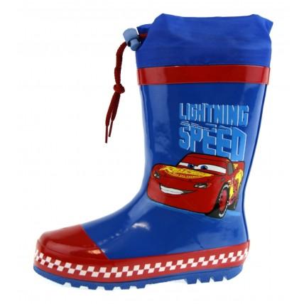 Disney Cars Tie Top Wellington Boots