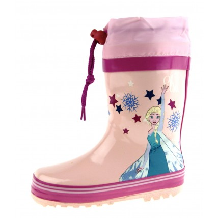 Disney Frozen Tie Top Wellington Boots