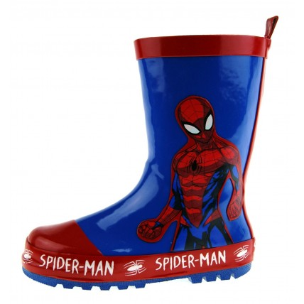 Spiderman Rubber Wellington Boots