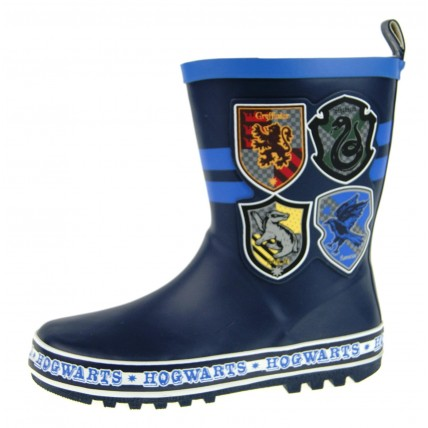 Boys Harry Potter Rubber Wellington Boots