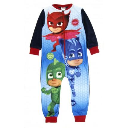 Boys PJ Masks Fleece Onesie