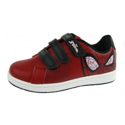 Spiderman Boys Skate Trainers  Face