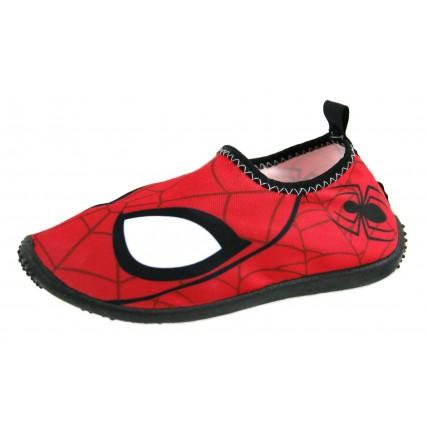 Spiderman Boys Aqua Shoes - Red