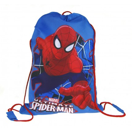 Marvel Spiderman Drawstring Bag  Ultimate Spiderman