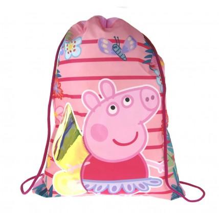Peppa Pig Drawstring Bag  Iridescent Wings