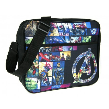 Marvel Avengers Messenger Bag - Logo