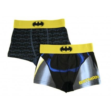 Boys Batman Boxer Shorts - 2 Pack