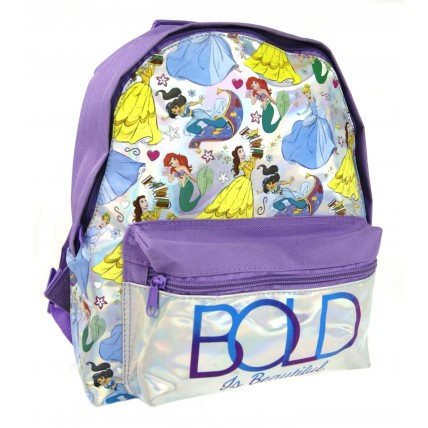 Disney Princess Girls Roxy Backpack Holographic