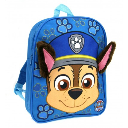 Paw Patrol Chase 3D Backpack - Plush Ears