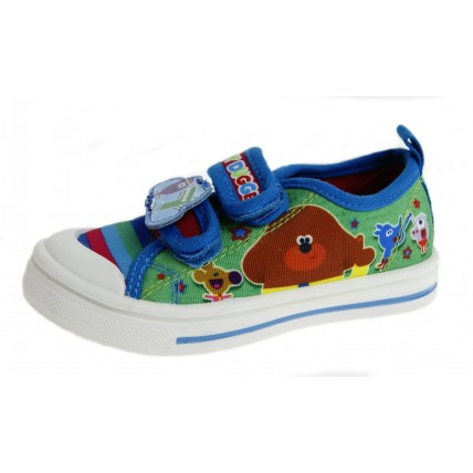 Hey Duggee Boys Canvas Pumps